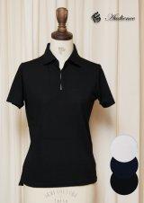 【価格改定】クールマックス鹿の子スキッパー半袖ポロシャツ [Lady's] / Audience