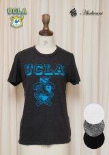 """【価格改定】 UCLA""""UCLA""""エンブレム三素材混カレッジプリント半袖クルーネックTシャツ [Lady's] / Audience"""
