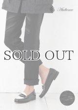 黒×黒国内樹脂加工タイトフィットストレートデニムパンツ [Lady's] 【送料無料】 / Audience