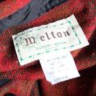 More photos3: MELTON COMPANY (メルトンカンパニー) CP0ウールチェックシャツ【MADE IN U.S.A】『米国製』/ デッドストック