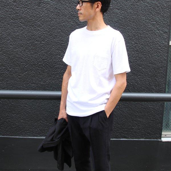 画像2: USAファブリック丸胴国産ポケットTEE【FABRIC MADE IN USA】【ASSEMBLED IN JAPAN】『日本製』