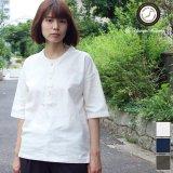 コットンリネンキャンバスジンベエTOPSシャツ [Lady's] 【MADE IN JAPAN】『日本製』/ Upscape Audience