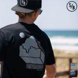 """MOUNTAINS"" 半袖Tシャツ / SURF/BRAND"