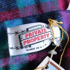 More photos2: PRIVATE PROPERTY(プライベート プロパティ)ネルシャツ【MADE IN U.S.A】『米国製』/ デッドストック