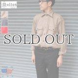 MELTON COMPANY (メルトンカンパニー) CPOウールチェックシャツ【MADE IN U.S.A】『米国製』/ デッドストック