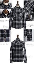 More photos1: 【RE PRICE / 価格改定】TRタータンチェックダブルジップコンチョボタンシャツジャケット / GUN HO × Audience
