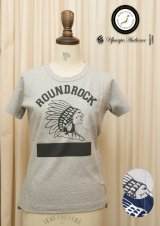 "【RE PRICE / 価格改定】 ラフィー天竺""ROUND ROCK""クルーネックポケット付きカットソー[Lady's]【MADE IN JAPAN】 / Upscape Audience"