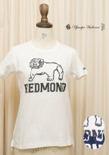 "【RE PRICE / 価格改定】 ラフィー天竺""REDMOND""クルーネックポケット付きカットソー[Lady's]【MADE IN JAPAN】 / Upscape Audience"