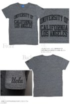 """More photos1: 【RE PRICE / 価格改定】 UCLA""""UNIVERSITY OF CALIFORNIA LOS ANGELES""""三素材混カレッジプリント半袖VネックTシャツ / Audience"""