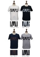 "More photos2: 【RE PRICE / 価格改定】ラフィー天竺""SIMPLE""プリントポケット付きクルーネックT【MADE IN JAPAN】『日本製』/ Upscape Audience"