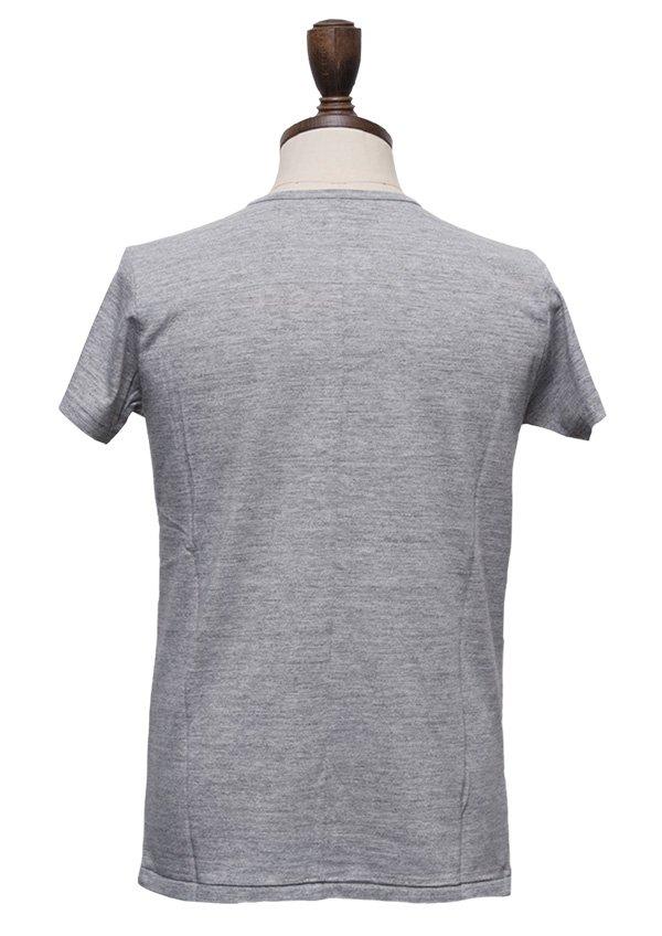 画像3: 【RE PRICE/価格改定】ガラガラ紡Vネック半袖Tシャツ [Lady's]【MADE IN JAPAN】『日本製』/ Upscape Audience