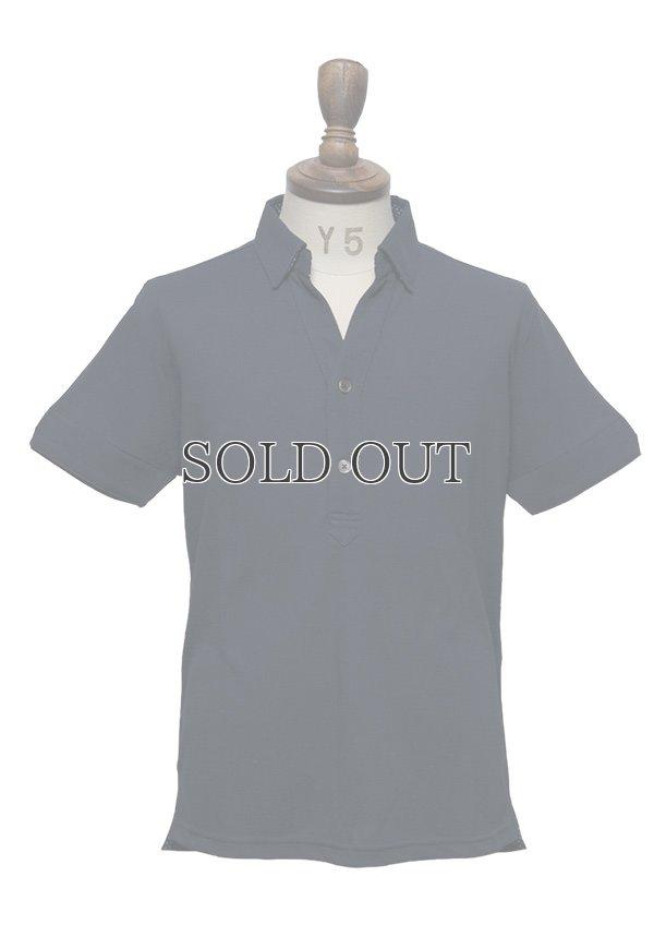 画像2: 【RE PRICE / 価格改定】Coolmax(クールマックス)鹿の子Vネック隠しボタンダウンポロシャツ [Lady's] / Audience