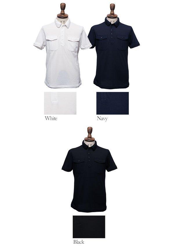 画像4: 【RE PRICE / 価格改定】クールマックス鹿の子ARMY半袖ポロシャツ [Lady's] / Audience