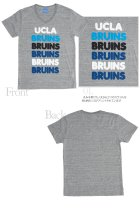 """More photos1: 【RE PRICE / 価格改定】 UCLA""""BRUINS""""コットン/三素材混カレッジプリント半袖VネックTシャツ [Lady's] / Audience"""