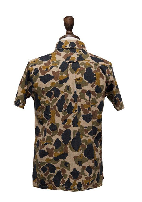 画像5: 【RE PRICE / 価格改定】ダックカモプリント天竺ボタンダウンカラーポロシャツ【MADE IN JAPAN】『日本製』/ Upscape Audience