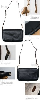 More photos1: LEATHER 3WAY CLUTHC BAG(VS-240L)【MADE IN JAPAN】『日本製』【送料無料】 / VASCO