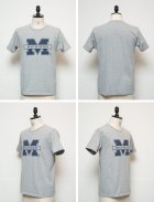 "More photos1: 【RE PRICE / 価格改定】MICHIGAN ""M"" C/N S/S 6.6oz オールドプリントT / Audience"