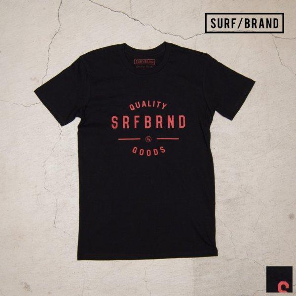 """画像1: """"GOODS""""半袖Tシャツ / SURF/BRAND"""