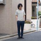 More photos3: フレンチリネンナチュールドキャンバス2タックアンクルパンツ【MADE IN JAPAN】『日本製』【送料無料】 / Upscape Audience