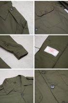 More photos2: カナダ軍デッドストックミリタリーワークシャツ / デッドストック