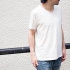 More photos1: オーガニックコットン天竺Vネック半袖Tシャツ【MADE IN JAPAN】『日本製』/ Upscape Audience