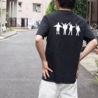 More photos3: BEATLES Apple刺繍バックプリントUSAファブリック丸胴国産ポケットTEE【FABRIC MADE IN USA】【ASSEMBLED IN JAPAN】『日本製』/ Upscape Audience