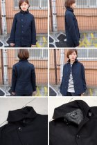 More photos2: 840gピュアウールメルトンショールカラージャケット [Lady's]【送料無料】/ Audience