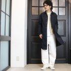More photos3: 赤耳(セルヴィッチ)ホワイトデニムワイドペインターインステップカットパンツ【MADE IN JAPAN】『日本製』【送料無料】/ Upscape Audience
