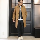 More photos2: 【RE PRICE / 価格改定】ウールライクツイルストレッチ MA1ブルゾン【MADE IN JAPAN】『日本製』 / Upscape Audience
