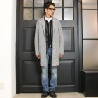 More photos2: 【RE PRICE / 価格改定】ジャズネップニットショップコート【MADE IN JAPAN】『日本製』/ Upscape Audience