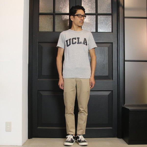 """画像2: UCLA """"UCLA""""日本製ボディクラックプリント半袖Tシャツ / Upscape Audience"""