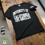 "UCLA""UNIVERSITY CALIFORNIA LOS ANGELES""C/N S/S 6.6oz オールドプリントT [Lady's] / Audience"