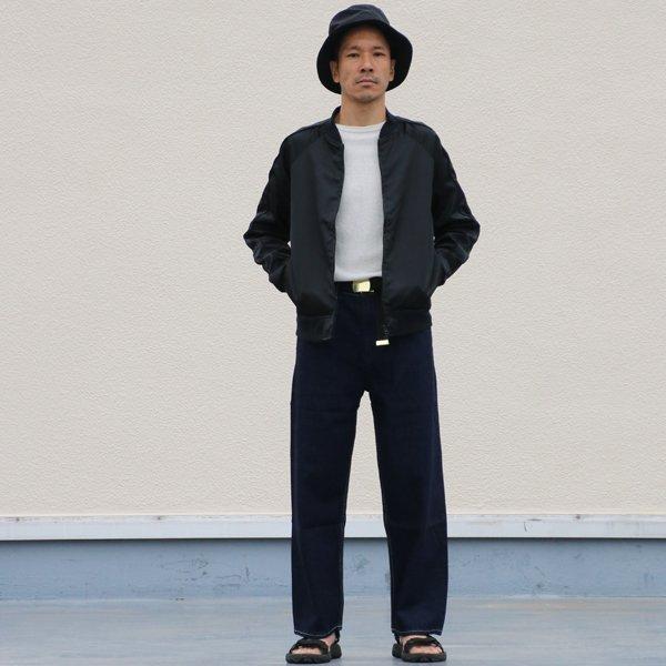 画像2: 赤耳(セルヴィッチ)デニムワイドペインターインステップパンツ【MADE IN JAPAN】『日本製』【送料無料】/ Upscape Audience