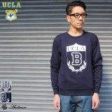"""UCLA""""UCLA B""""クルーネック長袖ライトスウェット / Audience"""