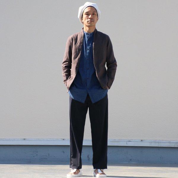 画像2: 綿麻キャンバス1Bカラーレス_jacket【MADE IN JAPAN】『日本製  / Upscape Audience