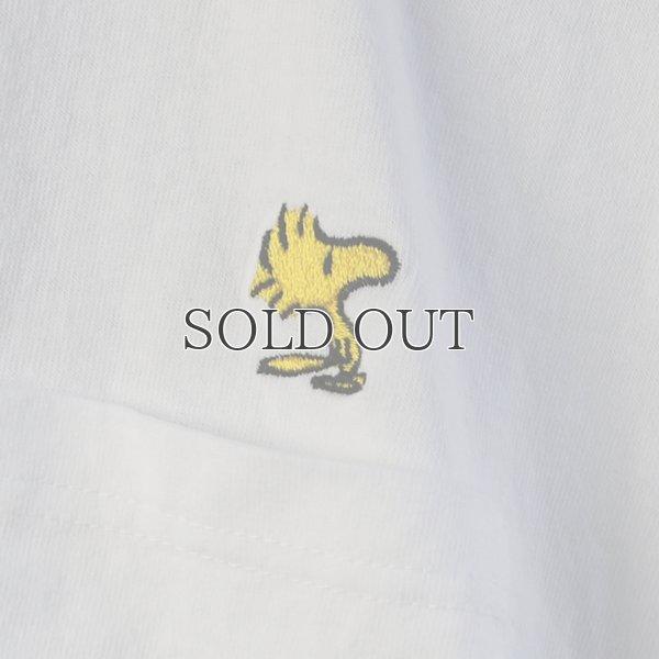 """画像2: Snoopy """"ウッドストック""""刺繍ポケット付きTEE 【Audience】"""