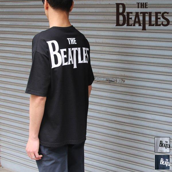 """画像1: ビートルズ """"THEビートルズ""""刺繍&プリントポケット付きBIG-TEE【Audience】"""