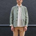 More photos2: 【RE PRICE / 価格改定】ヨコムラバックサテンスタンド Jacket 『日本製』/ Upscape Audience