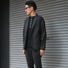 More photos3: 【RE PRICE/価格改定】度詰ワッフルC/NヘンリーS/Sカットソー【MADE IN JAPAN】『日本製』/ Upscape Audience