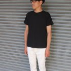 More photos1: 吊り編み天竺ロールアップ オーバーサイズ C/N S/S Tee【MADE IN TOKYO】『東京製』/ Upscape Audience