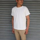 More photos2: 吊り編み天竺ロールアップ オーバーサイズ C/N S/S Tee【MADE IN TOKYO】『東京製』/ Upscape Audience