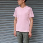 More photos1: 【RE PRICE/価格改定】コーマ天竺 2TONE V/N ポケ付 S/S Tee【MADE IN JAPAN】『日本製』/ Upscape Audience