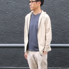More photos3: 【RE PRICE/価格改定】コーマ天竺 2TONE V/N ポケ付 S/S Tee【MADE IN JAPAN】『日本製』/ Upscape Audience