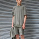 More photos1: コットンパイル ガゼットスウェットオーバーサイズ サイドスリット S/S Tee【MADE IN JAPAN】『日本製』/ Upscape Audience