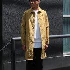 More photos1: リップストップ撥水ナイロン ラグランスリーブ ステンカラーコート【MADE IN JAPAN】『日本製』/ Upscape Audience