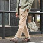 More photos3: ワーカーズチノワイドインステップカットパンツ【MADE IN JAPAN】『日本製』【送料無料】/ Upscape Audience