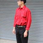 More photos2: MELTON COMPANY (メルトンカンパニー) CP0ウールチェックシャツ【MADE IN U.S.A】『米国製』/ デッドストック