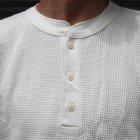 More photos2: OLD FASHION (オールドファッション) サーマルヘンリーネックカットソー【MADE IN U.S.A】『米国製』/ デッドストック