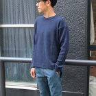 More photos2: ビックワッフル C/N ルーズフィット ロングニットソー【MADE IN JAPAN】『日本製』 / Upscape Audience