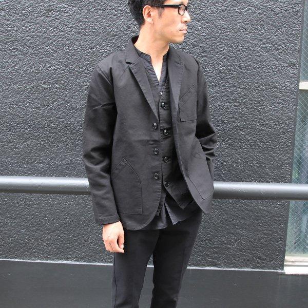 画像2: ヘビーオックスカバーオール3B Jacket【MADE IN JAPAN】『日本製』【送料無料】/ Upscape Audience